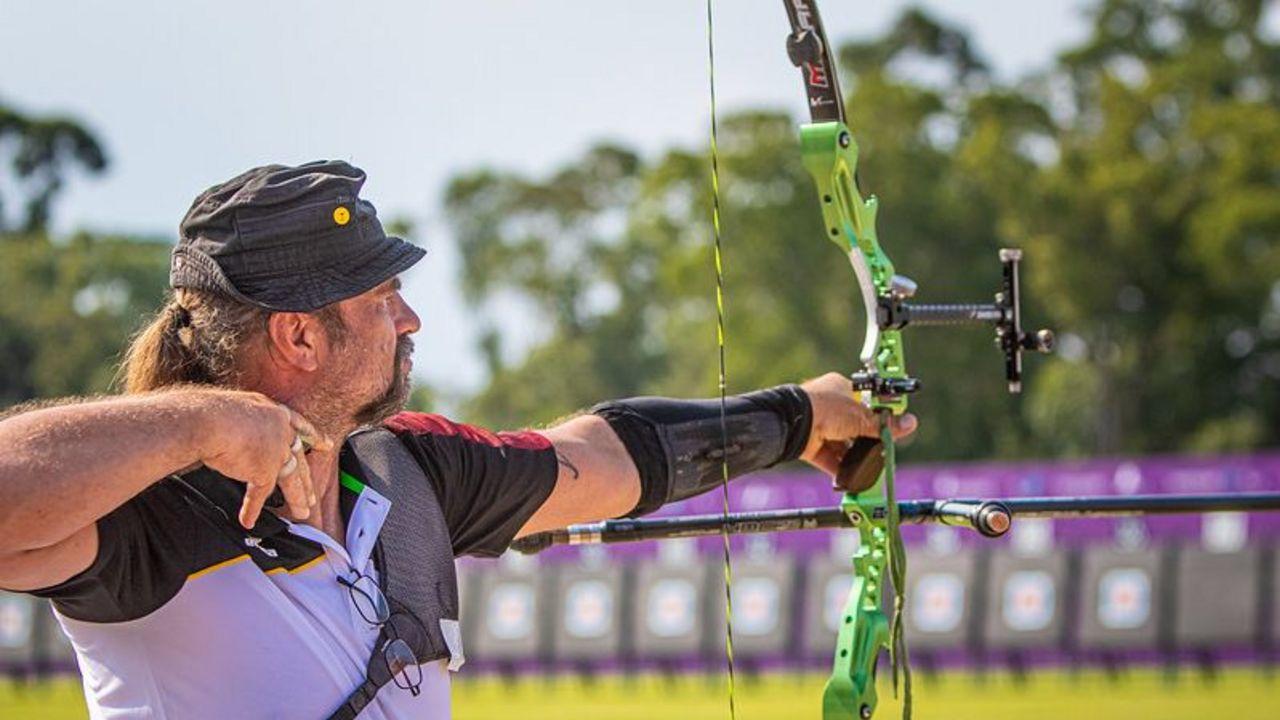 Foto: World Archery / Maik Szarszewski blieb in der Qualifikation hinter seinen eigenen Erwartungen.