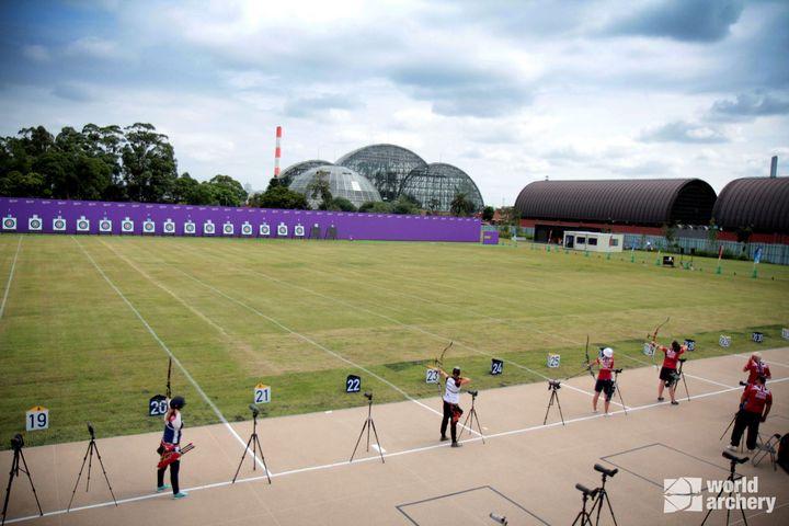 Yumenoshima Park Archery Field